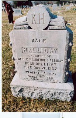 """Catherine Alice """"Katie"""" Halliday"""