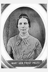 Mary Ann <I>Frost</I> Pratt