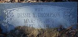 Dessie Mae <I>Young</I> Thompson