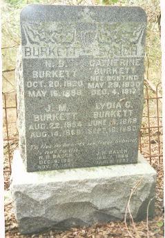 Nathaniel Boone Burkett