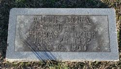 Willie Dora <I>Fugitt</I> Cook