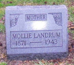 "Mary ""Mollie"" <I>Phillips</I> Landrum"