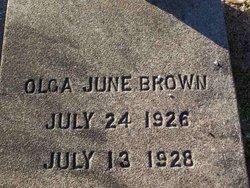 Olga June Brown