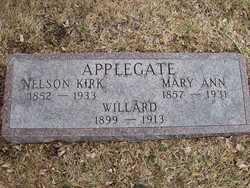 Mary Ann <I>Hall</I> Applegate