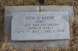 Otis A Keene