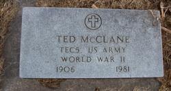 "Theodore Rossevelt ""Ted"" McClane"