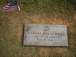 Warner Welsh Boyle