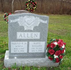 Karyl <I>Holland</I> Allen
