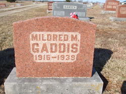 Mildred M <I>Smith</I> Gaddis