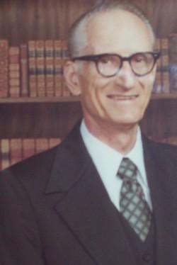 Rev Clifford Edgar Hawkins
