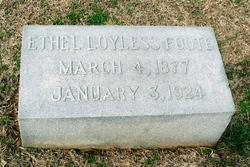 Ethel <I>Loyless</I> Foote