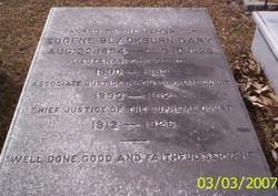 Eugene Blackburn Gary