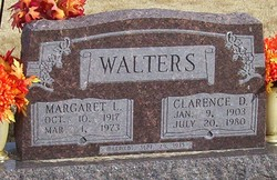 Margaret Lucille <I>Curtiss</I> Walters