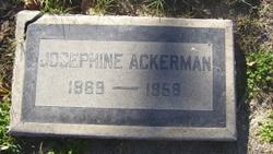 Josephine Ackerman