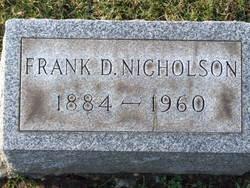 Frank David Nicholson
