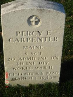 Sgt Percy E Carpenter