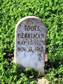 """Mabel """"Toots"""" Herriman"""