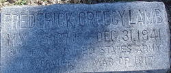 Sgt Frederick Creecy Lamb