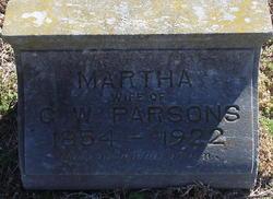 Martha <I>Truitt</I> Parsons