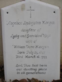 Angelica Livingston <I>Hoyt</I> Morgan