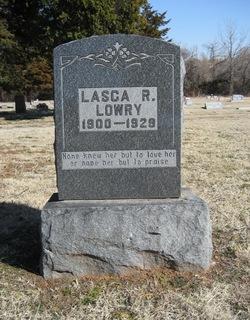 Lasca R. <I>Hargett</I> Lowry
