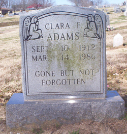 Clara Franklin Adams
