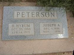 H Hyrum Peterson