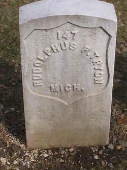 Rudolphus P. Tryon
