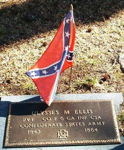 Pvt Ulysses M. Ellis