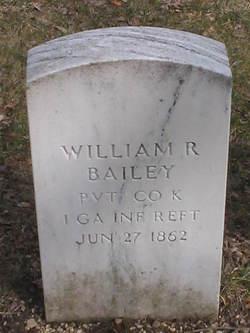 Pvt William R Bailey