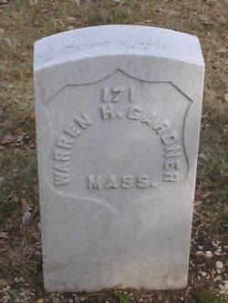 Pvt Warren H Gardner