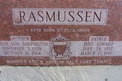 Sarah Jane <I>Darrington</I> Rasmussen