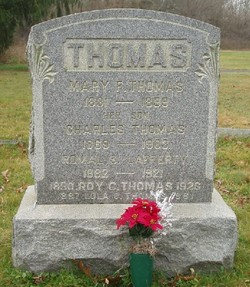 Mary F. <I>Smallwood</I> Thomas