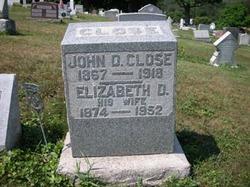 Elizabeth Drusilla <I>Baker</I> Close