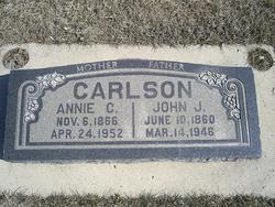 Annie Christina <I>Christensen</I> Carlson
