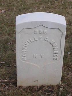 Pvt Montiville C. Monroe