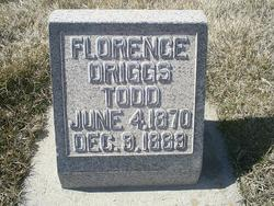 Florence Marion <I>Driggs</I> Todd