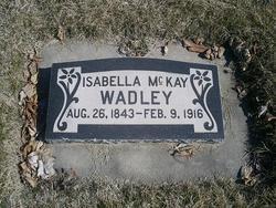 Isabella <I>McKay</I> Wadley