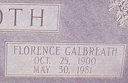 Florence <I>Galbreath</I> Booth