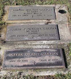 Oliver Grant Carson