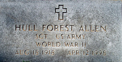 SGT Hull Forest Allen