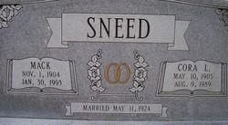 Mack Sneed