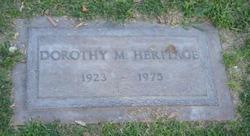 Dorothy Marie Heritage