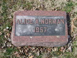 Alice Allbritten <I>Albritten</I> Norman