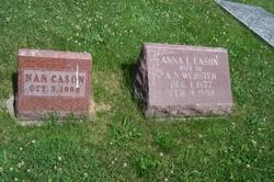 Anna L. <I>Cason</I> Webster