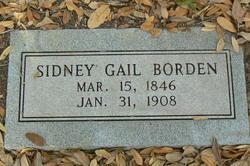 Sidney Gail Borden Sr.