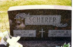 Catherine M <I>Sage</I> Scherer