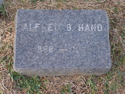Alfred B Hand