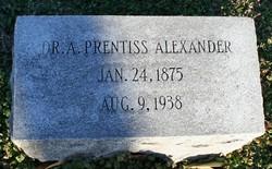 Dr Albert Prentiss Alexander Sr.