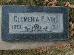 Clomenia Phelps <I>Pratt</I> Ivins